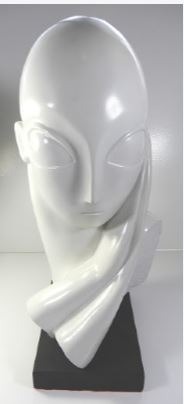 1961 AUSTIN PRODUCTS ALIEN WOMAN BUST
