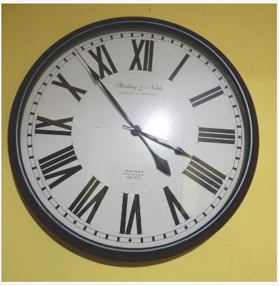 STERLING-NOBLE WALL CLOCK