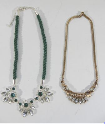 RHINESTONE NECKLACES