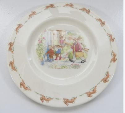 ROYAL DOULTON BUNNKINS PLATE
