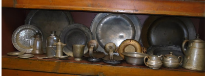 VERY OLD PEWTER WARE