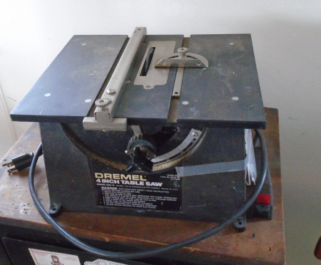 DREMEL 4IN TABLE SAW