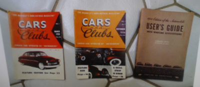 CAR BOOKLETS