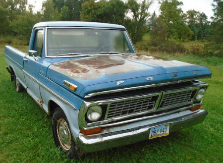 1970 FORD 100 PICKUP