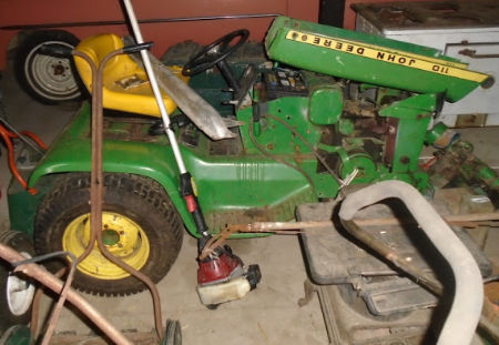 JD 110 LAWN TRACTOR