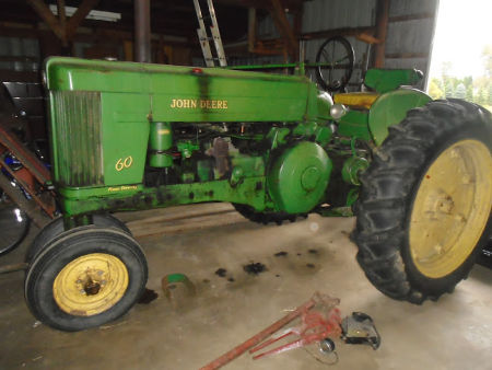 1956 JD 60 TRACTOR