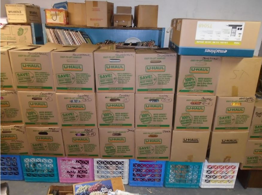 OVER 100 BOXES LP'S