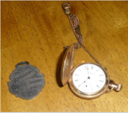 PENDENT HC WATCH FLINT WAGON WORKS FOB