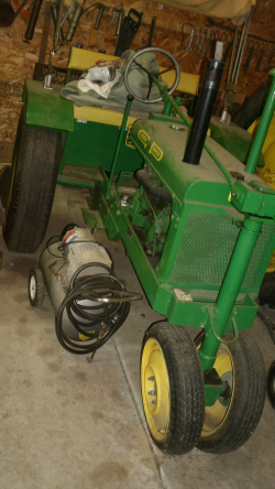 HOMEMADE JD TRACTOR