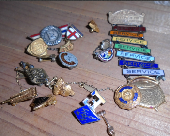 OLD PINS