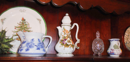 TEA POT CREAMER ETC